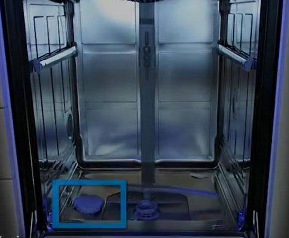 آموزش استفاده از نمک ماشین ظرفشویی
