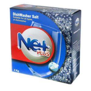 نمک ظرفشویی نت پلاس (Net Plus) حجم 2 کیلو