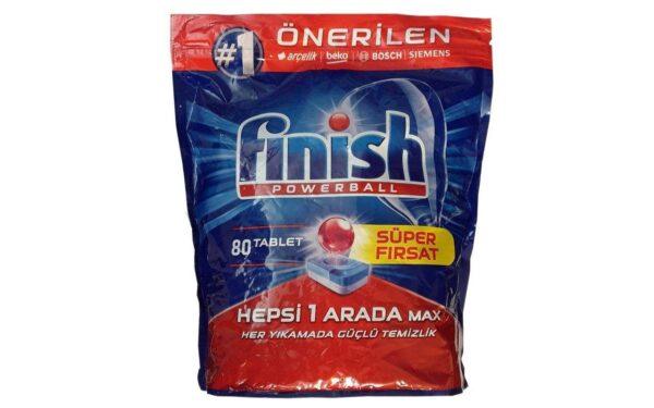 قرص ماشین ظرفشویی 80 عددی فینیش (Finish) مدل Hepsi Arada