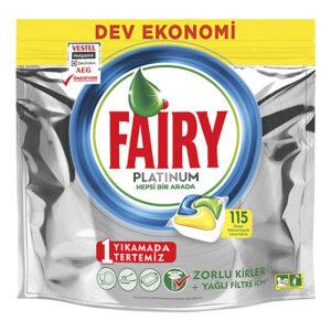 قرص ماشین ظرفشویی 115 عددی فیری پلاتینیوم Fairy Platinum