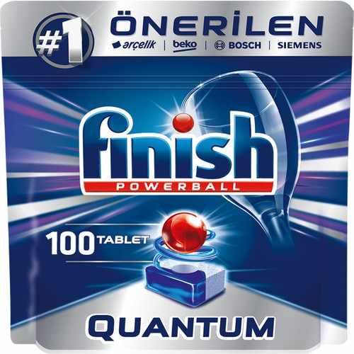 قرص ماشین ظرفشویی 100 عددی فینیش کوانتوم (Finish)