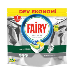 قرص ماشین ظرفشویی 115 عددی فیری پلاتینیوم (Fairy)