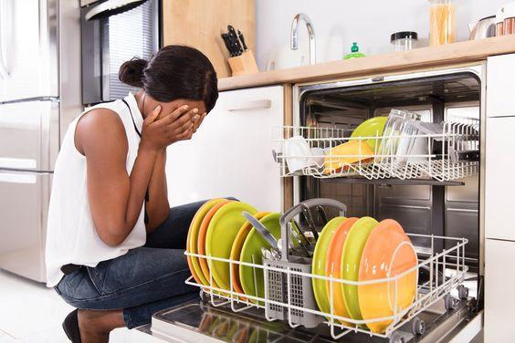 علت تمیز نشستن ظروف در ماشین ظرفشویی