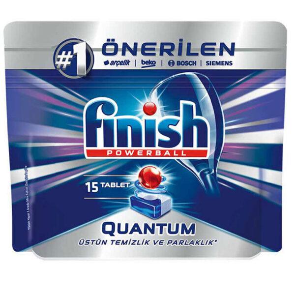 قرص ماشین ظرفشویی 15 عددی فینیش کوانتوم