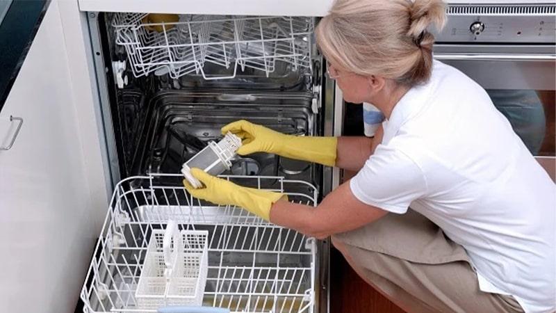جرمگیری ماشین ظرفشویی