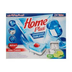 قرص ماشین ظرفشویی 24 عددی هوم پلاس
